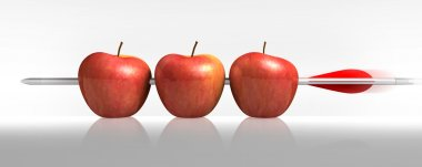 Arrow three apples a hit in White