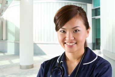 Portrait of a happy Female Nurse