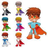 mladí superhrdinové