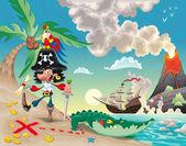 pirata sullisola