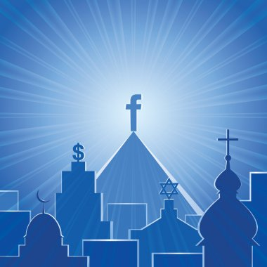 New religion. Social network