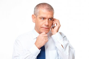 Portrait of serious business man