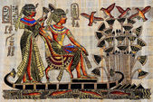 Fotografie Egyptian parchment