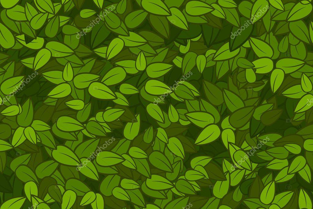 Hojas de color verde transparente textura vector de - Color verde hoja ...