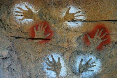 Aboriginal paintings - Australia