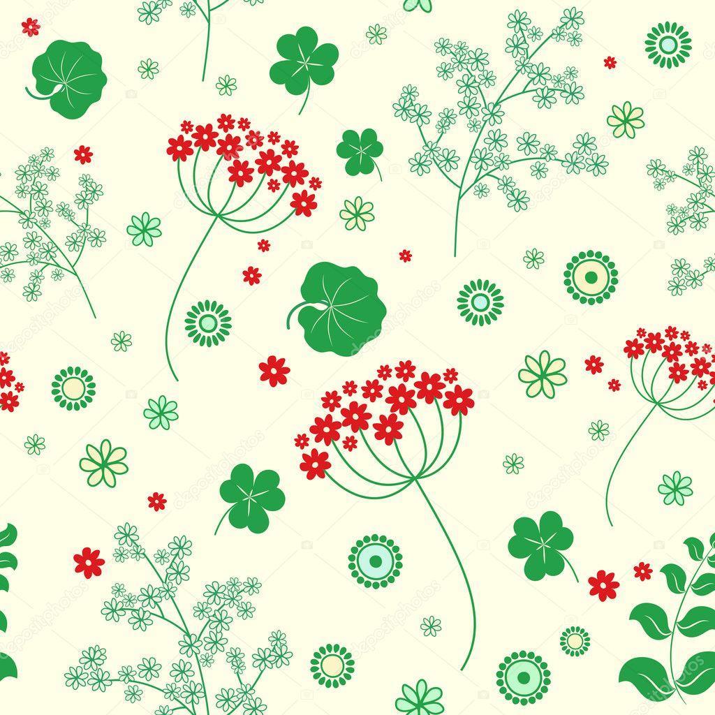 Giardino fiori ed erbe sfondo senza soluzione di for Soluzione giardino di era