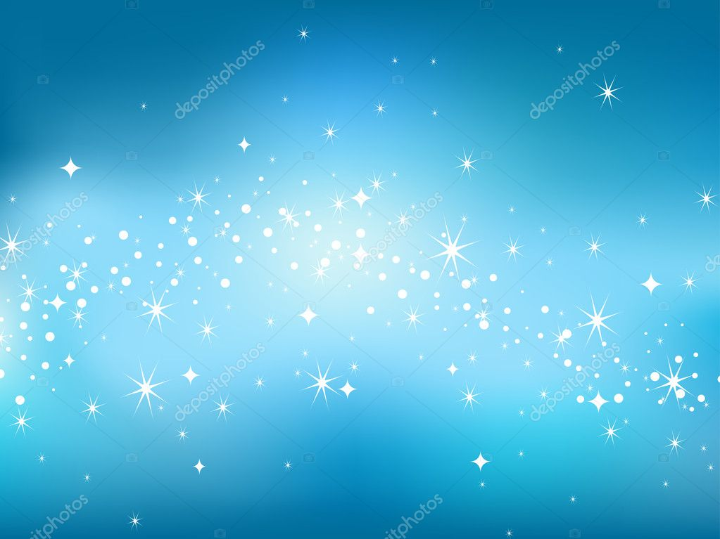 Abstract luminescence background in star sky style.