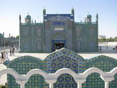 Fotografie Blue Mosque of Mazari Sharif