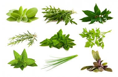 Mix aromatic herbs