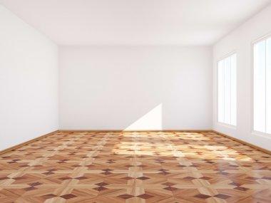 Empty room.