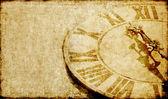 krásné pozadí obrázek s tváří starožitné hodiny