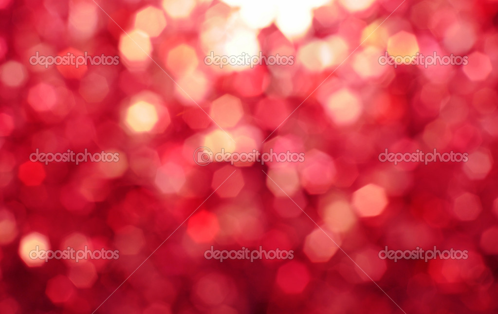 Defocused abstract red background
