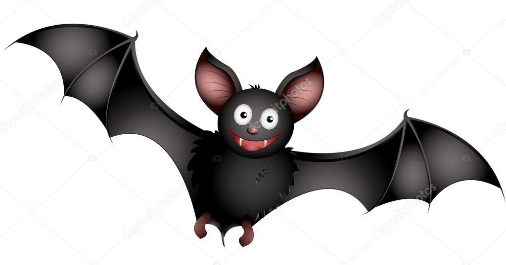 cartoon bat stock vector - Bat Cartoon