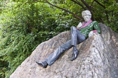 Statue of Oscar Wilde