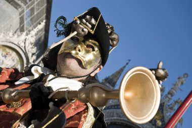 Venice Carnival Performers