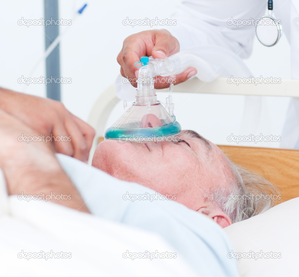 Patient With Oxygen Mask - Stock Photos | Motion Array