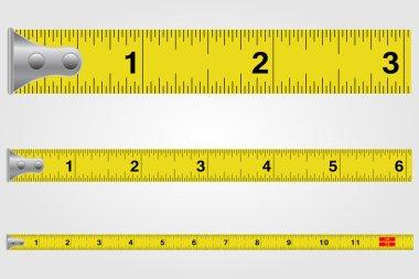 Tape Measure Illustration clip art vector