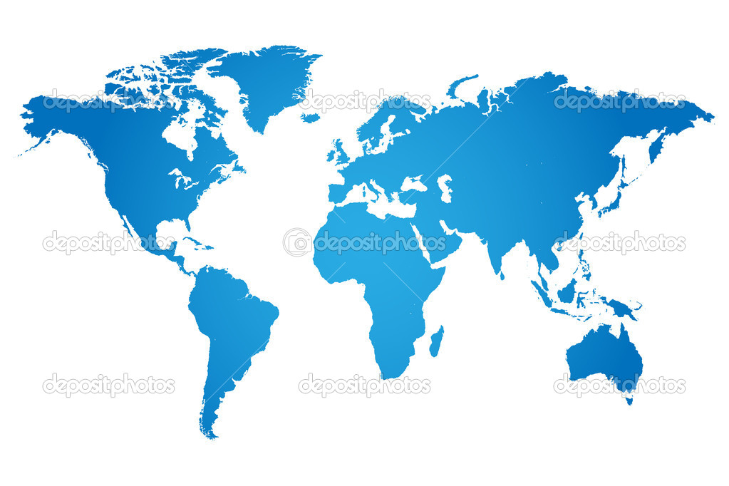 ᐈ Map of the world stock pictures, Royalty Free world map | download on  Depositphotos®