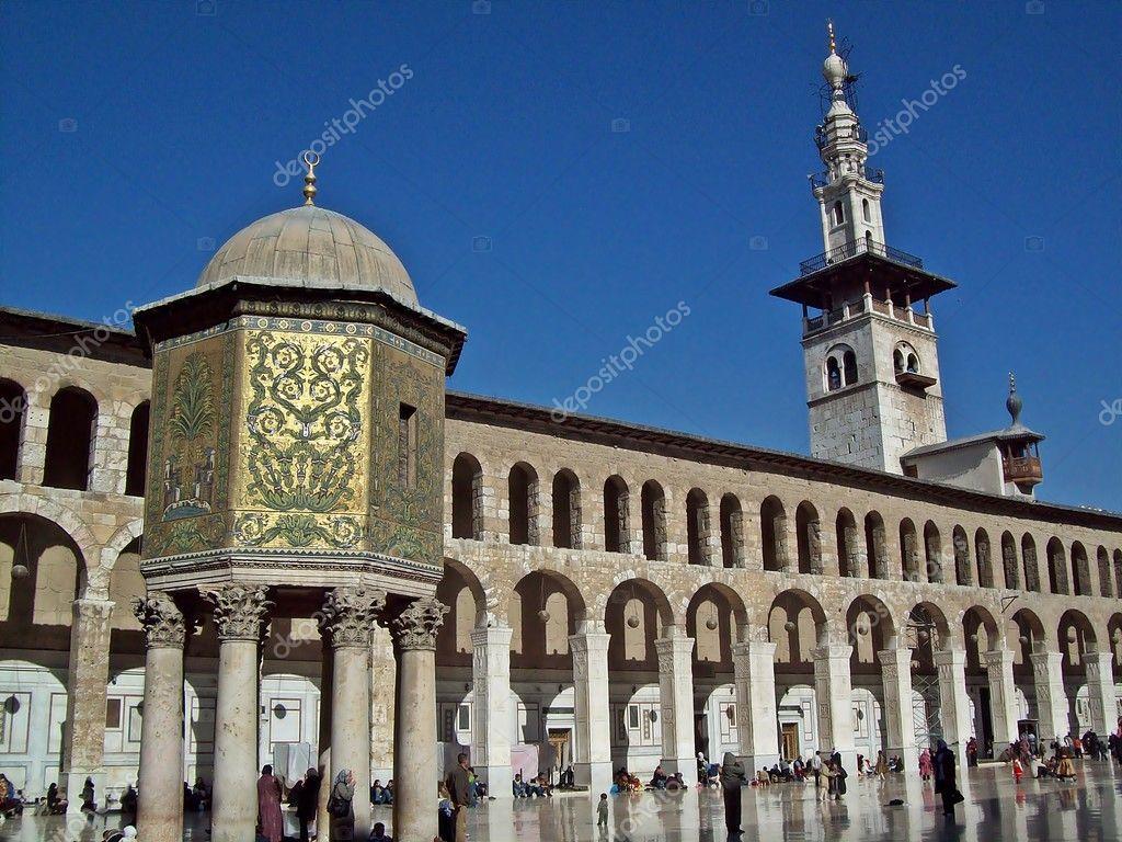 Umayyad mosque — Stock Photo © ktinte #9931465