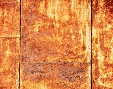 Rust panel as texture