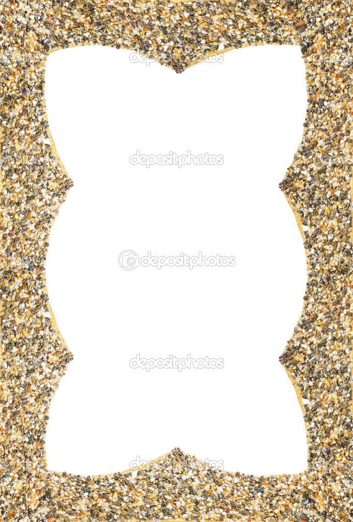 Old Fashioned Sand Frame Motif - Frames Ideas - ellisras.info