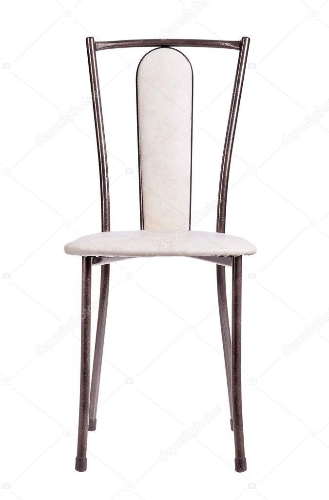 Chaise de cuisine moderne isolé — Photographie igorkovalcuk ...