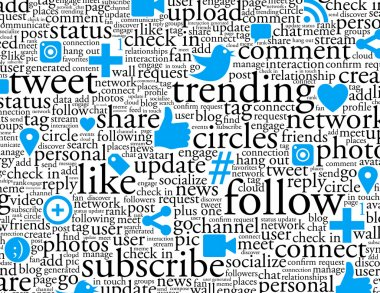 Social Networking Background