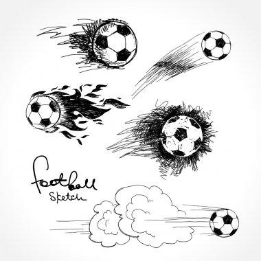 Football sketch