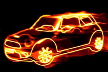 ateşli araba