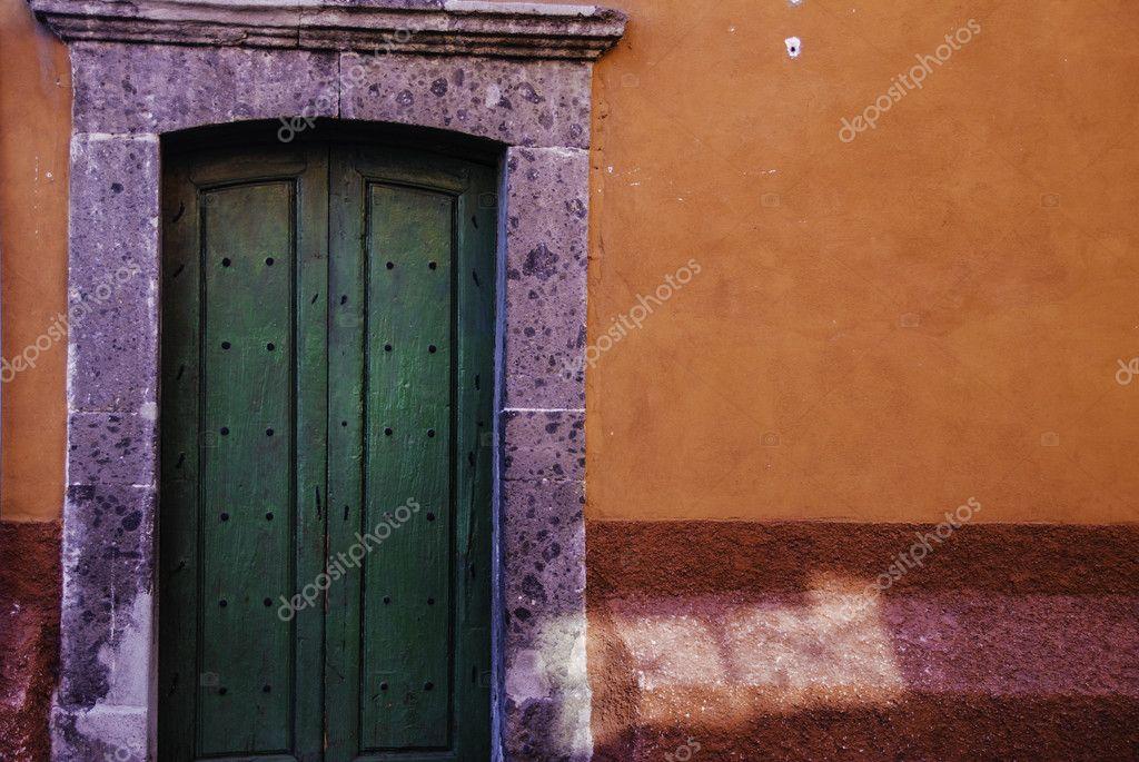 Door in the town of San Miguel de Allende, Mexico