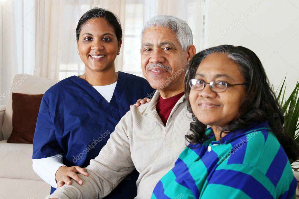 häusliche Pflege — Stockfoto © rmarmion #9999736