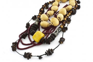 African handcraft necklaces