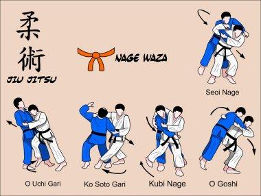 Judi and Jiu jitsu Martial art Techniques