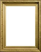 Fotografie Zlatý rám