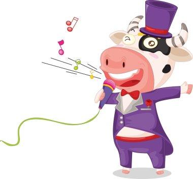 singing cow
