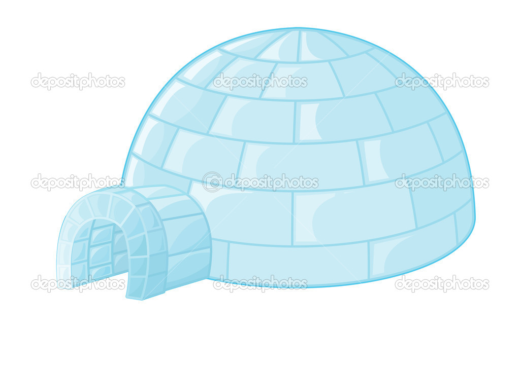 igloo stock vector 169 interactimages 10274934