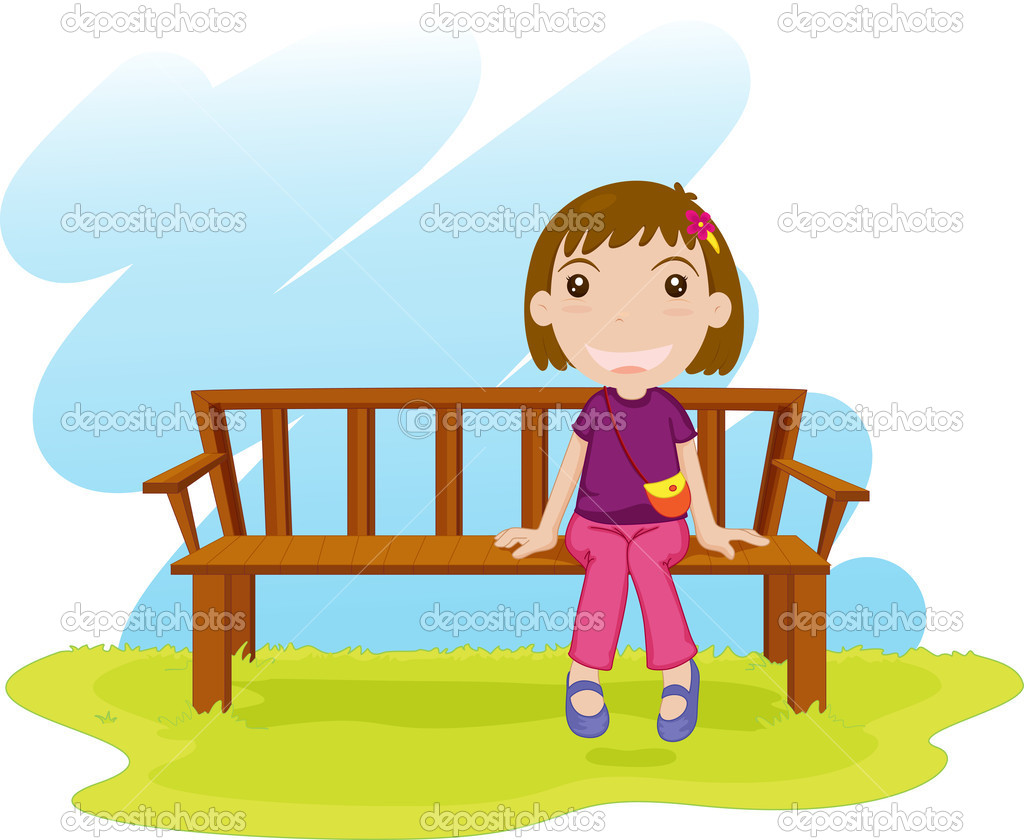 Sitting Down Stock Vector 169 Interactimages 10277281