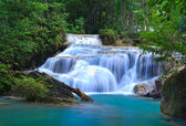 Vodopádu Erawan, kanchanaburi, Thajsko