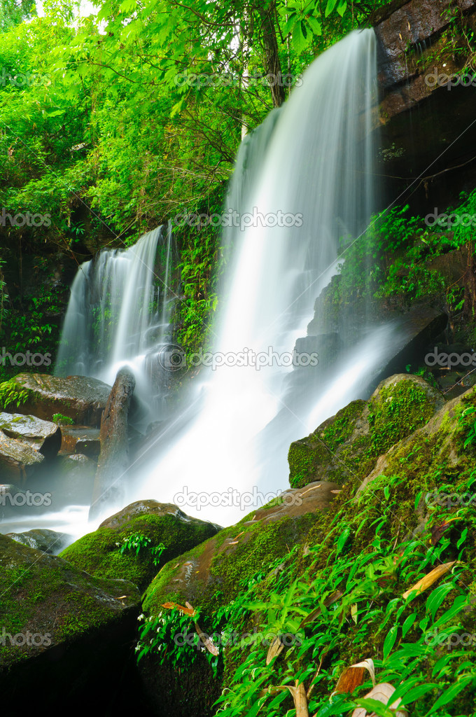 Waterfall at Loei,Thailand