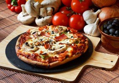 Funghi supreme Pizza