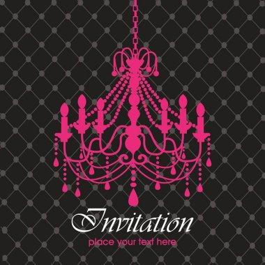 Luxury chandelier background ver. 1