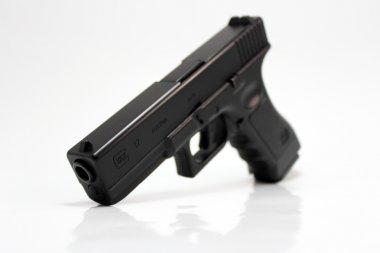 Glock 17 automatic handgun pistol stock vector