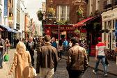 Fotografie Dublin street with