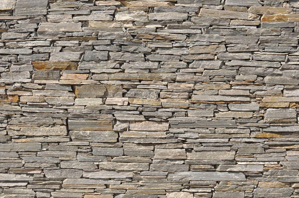 Grauen Stein Ziegel-wand-hintergrund ? Stockfoto © Slickspics ... Graue Wand Und Stein