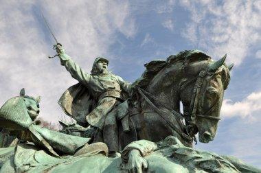 Civil War Soldier Statue