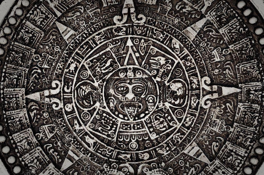 Ancient Mayan Calendar Stock Photo slickspics 10395553