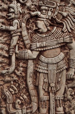 Mayan Indian Warrior