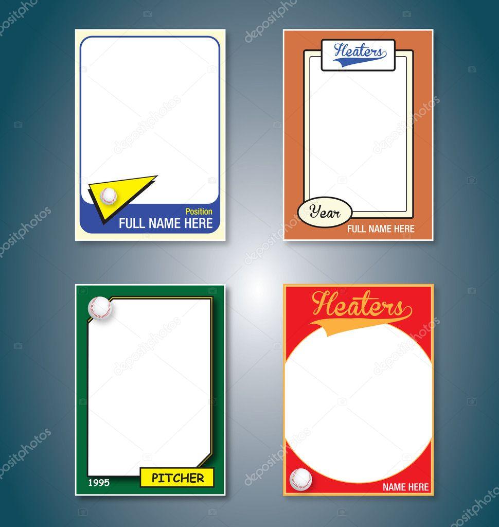 Baseball-Karten — Stockvektor © vreddane #10128466