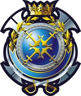 NAVY style emblem
