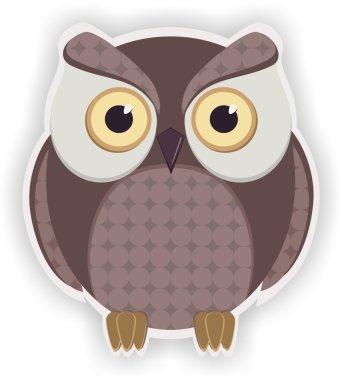 Cartoon owl.